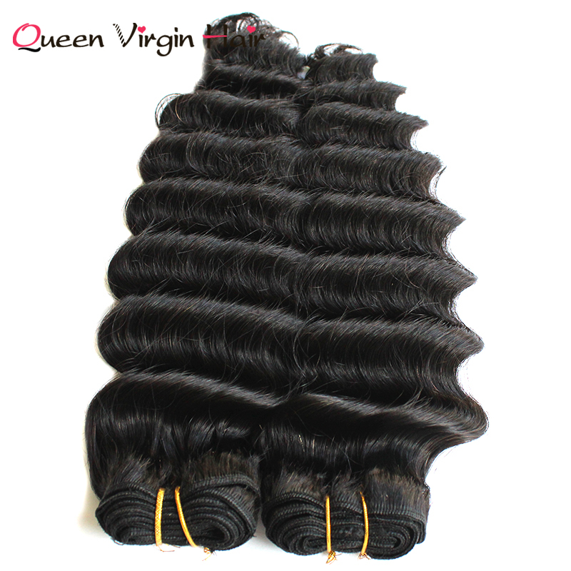 Unprocessed Raw Cuticle Aligned Virgin Deep Wave Indian Human Hair Extensions