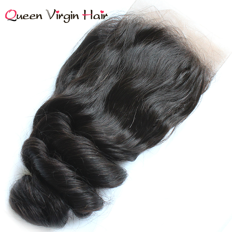 High Quality Malaysia Human Hair Loose Wave Extension With Closure