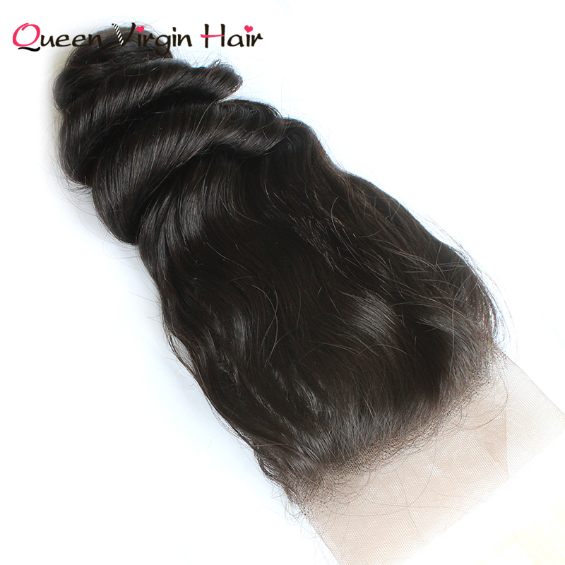Mink Malaysia Hair Cuticle Aligned Raw Loose Wave Hair With Lace Frontal